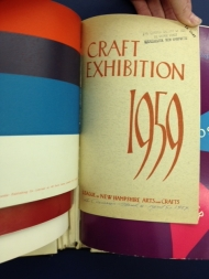 An exhibit of the League of New Hampshire Arts and Crafts, now known as the League of New Hampshire Craftsmen.